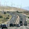 voitures et éoliennes